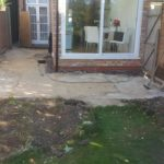 Before patio