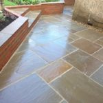 Patio sandstone